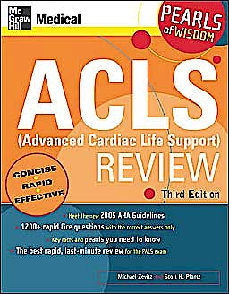 Portada del libro 9780071492577 ACLS (Advanced Cardiac Life Support) Review: Pearls of Wisdom