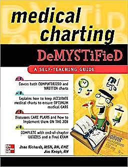 Portada del libro 9780071498487 Medical Charting Demystified. a Self-Teaching Guide