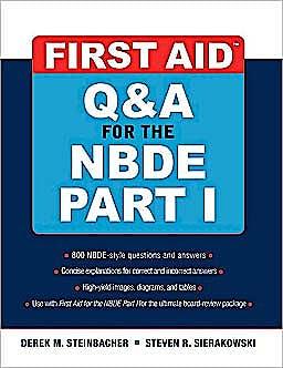 Portada del libro 9780071508667 First Aid Q&a for the Nbde Part I