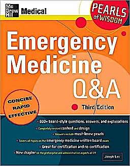 Portada del libro 9780071544696 Emergency Medicine Q&a (Pearls of Wisdom)