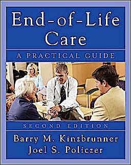 Portada del libro 9780071545273 End of Life Care. a Practical Guide