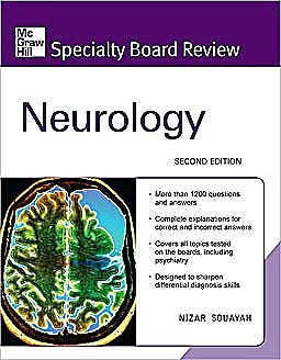 Portada del libro 9780071549653 McGraw-Hill Specialty Board Review: Neurology