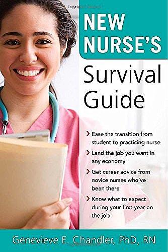 Portada del libro 9780071592864 New Nurse's Survival Guide