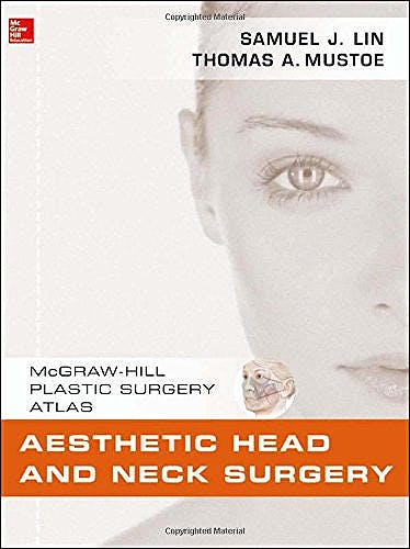 Portada del libro 9780071597715 Aesthetic Head and Neck Surgery