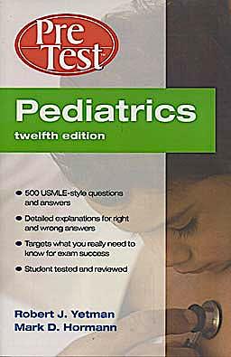 Portada del libro 9780071597906 Pediatrics. Pre Test