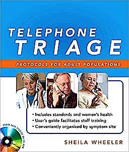 Portada del libro 9780071598002 Telephone Triage. Protocols for Adult Populations