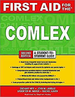 Portada del libro 9780071600255 First Aid for the Comlex