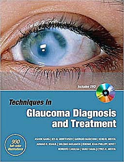 Portada del libro 9780071601955 Techniques in Glaucoma Diagnosis and Treatment + Dvd