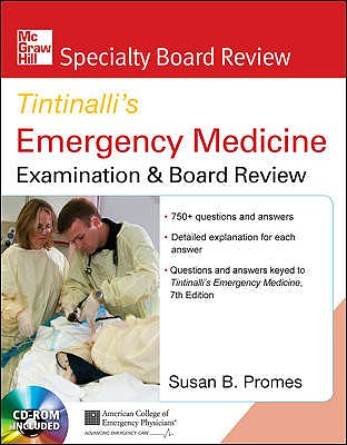 Portada del libro 9780071602051 Tintinalli's Emergency Medicine. Examination and Board Review (Specialty Board Review) + CD-ROM