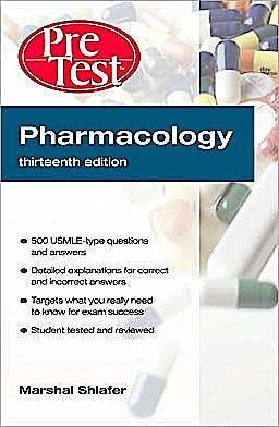 Portada del libro 9780071623421 Pharmacology. Pre Test