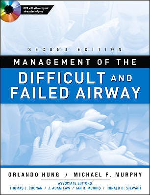 Portada del libro 9780071623469 Management of the Difficult and Failed Airway + Dvd