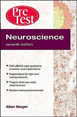 Portada del libro 9780071623476 Pretest Neuroscience