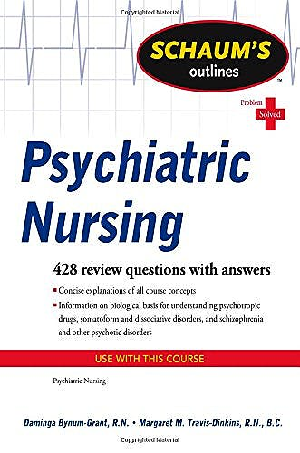 Portada del libro 9780071623643 Schaum's Outline of Psychiatric Nursing