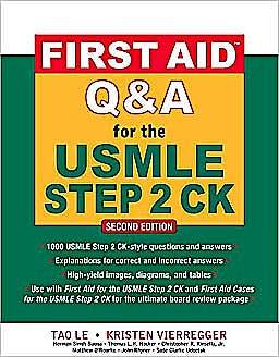 Portada del libro 9780071625715 First Aid Q&a for the Usmle Step 2 Ck