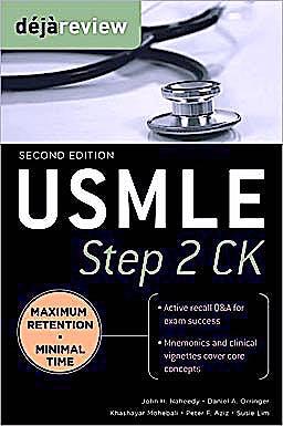 Portada del libro 9780071627160 Deja Review Usmle Step 2 Ck