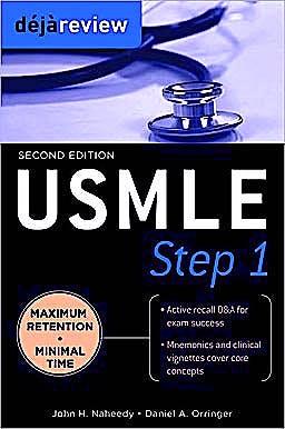 Portada del libro 9780071627184 Deja Review Usmle Step 1