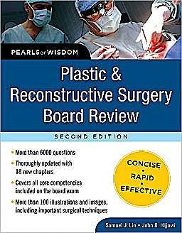 Portada del libro 9780071629744 Plastic and Reconstructive Surgery Board Review (Pearls of Wisdom)
