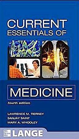 Portada del libro 9780071637909 Current Essentials of Medicine. Lange