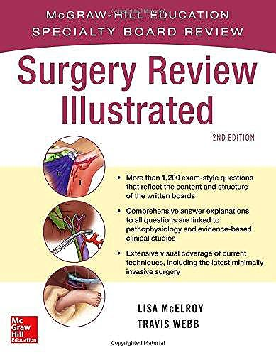 Portada del libro 9780071663298 Surgery Review Illustrated
