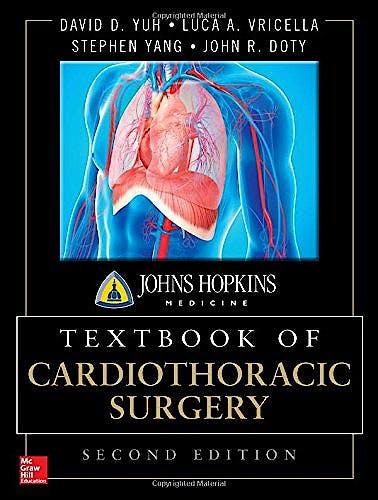 Portada del libro 9780071663502 Johns Hopkins Textbook of Cardiothoracic Surgery