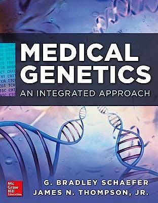 Portada del libro 9780071664387 Medical Genetics. an Integrated Approach