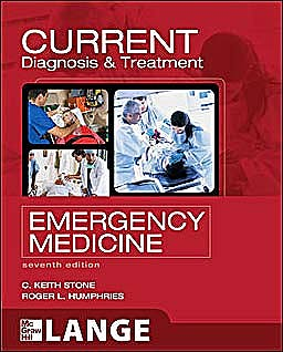 Portada del libro 9780071701075 Current Diagnosis and Treatment Emergency Medicine. Lange