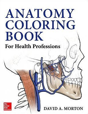Portada del libro 9780071714006 Anatomy Coloring Book for Health Professions