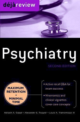 Portada del libro 9780071715164 Deja Review Psychiatry