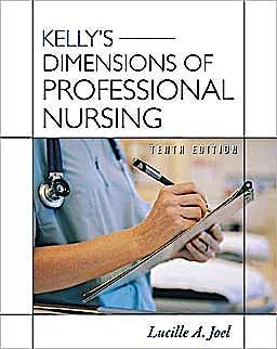 Portada del libro 9780071740999 Kelly's Dimensions of Professional Nursing