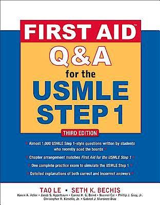 Portada del libro 9780071744027 First Aid Q&a for the Usmle Step1