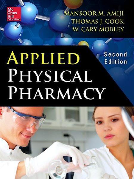 Portada del libro 9780071747509 Applied Physical Pharmacy