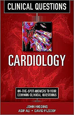 Portada del libro 9780071748988 Cardiology. Clinical Questions