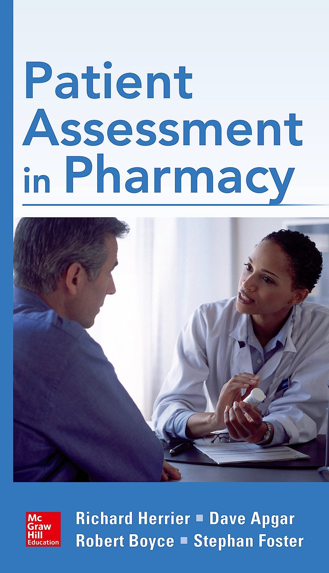 Portada del libro 9780071751940 Patient Assessment in Pharmacy