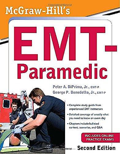 Portada del libro 9780071752015 McGraw-Hill's EMT-Paramedic