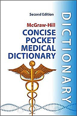 Portada del libro 9780071759991 McGraw-Hill Concise Pocket Medical Dictionary