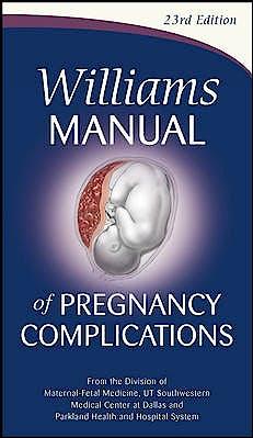 Portada del libro 9780071765626 Williams Manual of Pregnancy Complications