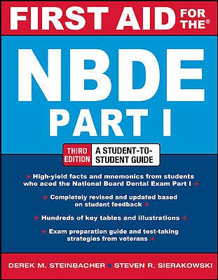 Portada del libro 9780071769044 First Aid for the Nbde Part 1