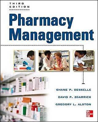 Portada del libro 9780071774314 Pharmacy Management