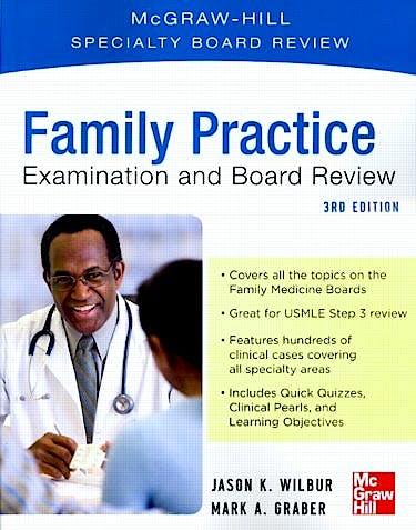 Portada del libro 9780071781855 Family Practice. Examination and Board Review