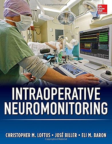 Portada del libro 9780071792233 Intraoperative Neuromonitoring