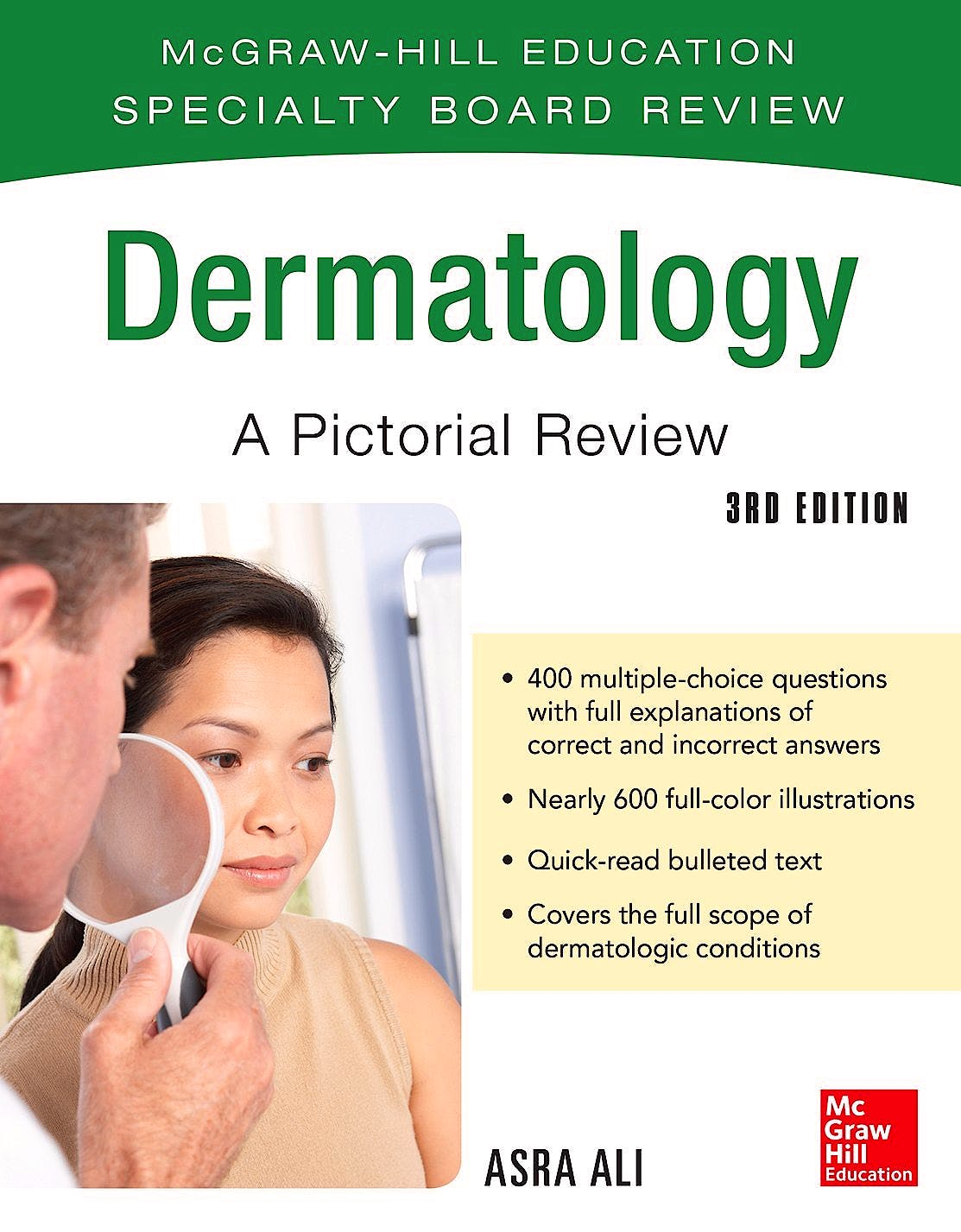 Portada del libro 9780071793230 McGraw-Hill Specialty Board Review: Dermatology. A Pictorial Review