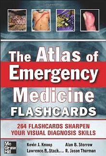 Portada del libro 9780071794008 The Atlas of Emergency Medicine Flashcards
