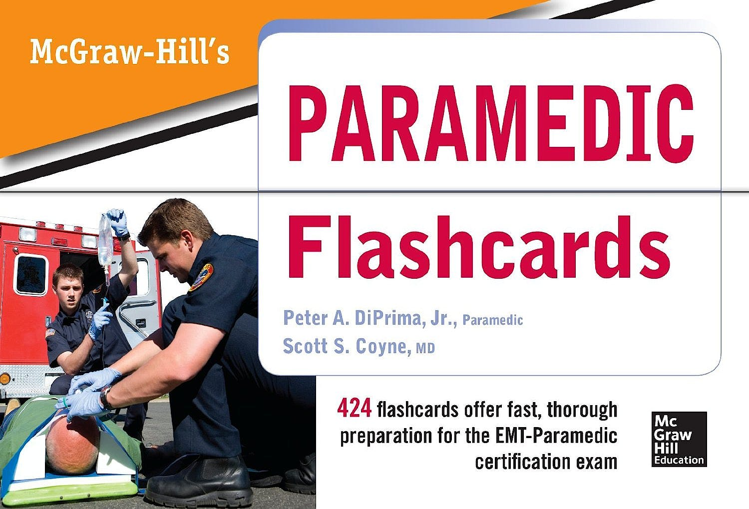 Portada del libro 9780071794121 McGraw Hill's Paramedic Flashcards