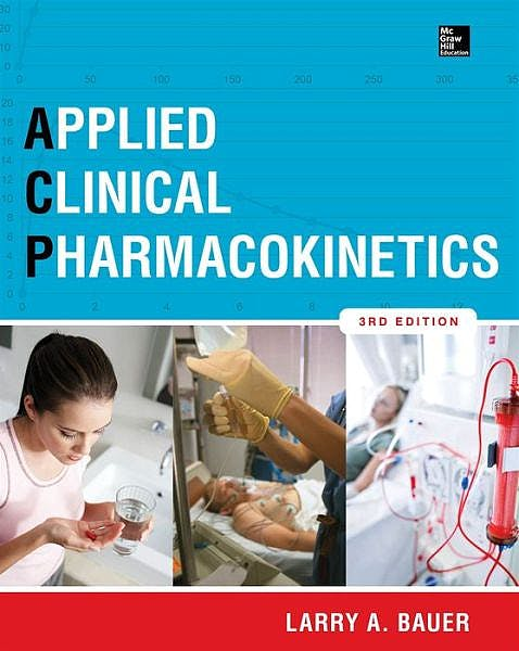 Portada del libro 9780071794589 Applied Clinical Pharmacokinetics