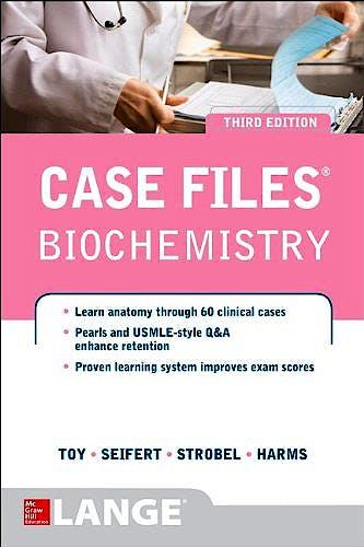 Portada del libro 9780071794886 Case Files Biochemistry