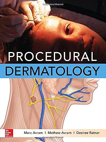 Portada del libro 9780071795067 Procedural Dermatology