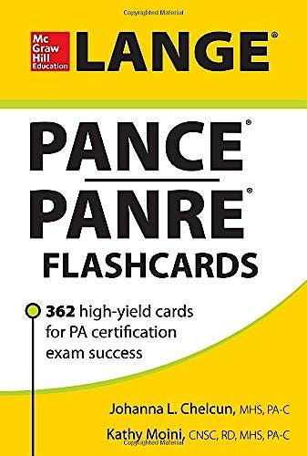 Portada del libro 9780071798440 Pance/panre Flashcards