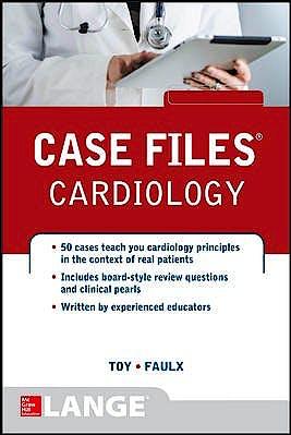 Portada del libro 9780071799195 Case Files Cardiology