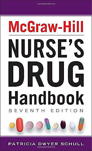 Portada del libro 9780071799423 McGraw-Hill Nurse's Drug Handbook