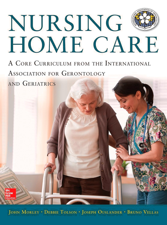Portada del libro 9780071807654 Nursing Home Care